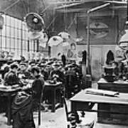Hat Factory, C1900 Poster