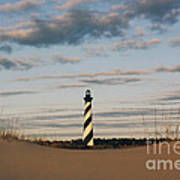 Hatteras Lighthouse And The Smiling Dune Poster