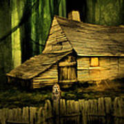 Haunted Shack Poster