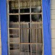 Haunted Window Poster