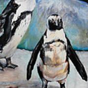 Hawaiian Penguins Poster