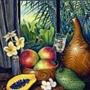 Hawaiian Still Life Poster by Anne Wertheim