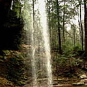 Hcking Hills Waterfall Poster
