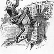Hearst Cartoon Poster