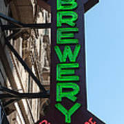 Heartland Brewery Chophouse Poster