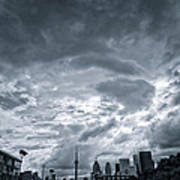 Heavy Sky Poster by Luba Citrin
