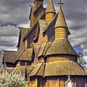 Heddal Stave Church  Poster