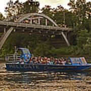 Hellgate Jet Boat And Caveman Bridge Poster