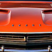 Hemi Orange 1971 Dodge Challenger Poster