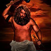 Hephaestus Poster by Lourry Legarde