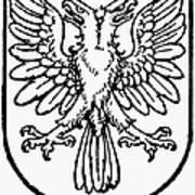 Heraldry: Birds Poster