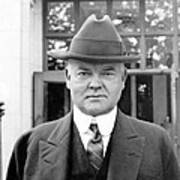 Herbert Hoover - President Of The United States Of America - C 1924 Poster