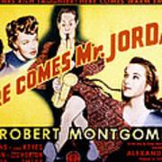 Here Comes Mr. Jordan, James Gleason Poster