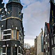 Herengracht 395. Amsterdam Poster