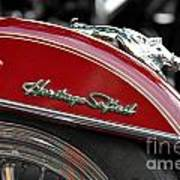 Heritage Softail Poster
