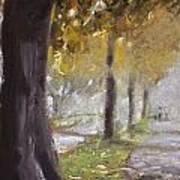 Herne Bay Park Fog 1 Poster