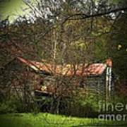 Hidden House In Spring Poster