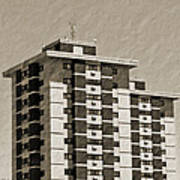 High Rise Apartments Poster