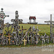 Hill Of Crosses 01. Lithuania Poster