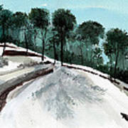 Himalaya 2 Poster by Anil Nene