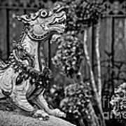 Himmapan Animals Statue Poster