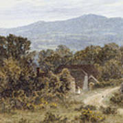 Hindhead From Sandhills Witley Poster