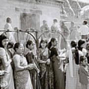 Hindu Pilgrims Poster