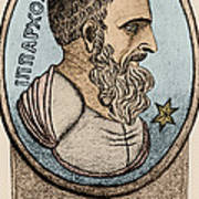 Hipparchus, Greek Astronomer Poster by Photo Researchers, Inc.