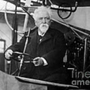 Hiram Maxim, American-anglo Inventor Poster