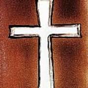 His Cross Poster
