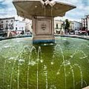 Historic Fountain Poster by Sabino Parente