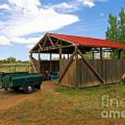 Historic Fruita District Barn Poster