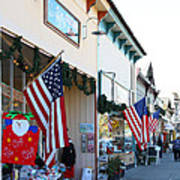 Historic Niles District In California Near Fremont . Main Street . Niles Boulevard . 7d10693 Poster