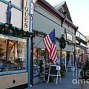 Historic Niles District In California Near Fremont . Main Street . Niles Boulevard . 7d10701 Poster