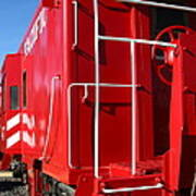 Historic Niles District In California Near Fremont . Western Pacific Caboose Train . 7d10622 Poster