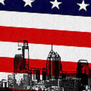 Historic Philadelphia  Poster