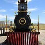 Historic Steam Locomotive Poster