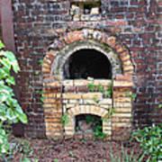 Historical Antique Brick Kiln In Morgan County Alabama Usa Poster