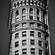 Hobart Building In San Francisco Ll - Black And White Poster