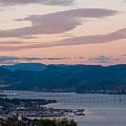 Hobart Harbour During Sunset Poster