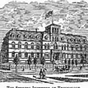 Hoboken: College, 1878 Poster