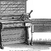 Hollerith Tabulator, 1890 Poster