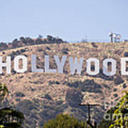 Hollywood Sign Photo Poster
