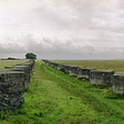 Holy Island Barriers Poster