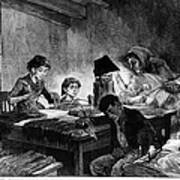 Home Industry, 1888 Poster