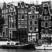 Homes Of Amsterdam Poster