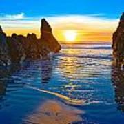 Honda Cove Sunset Poster