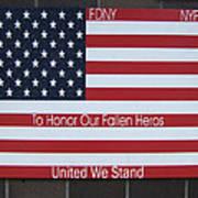 Honor Fallen Heroes Poster