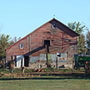 Horse Barn Poster