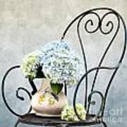 Hortensia Flowers Poster